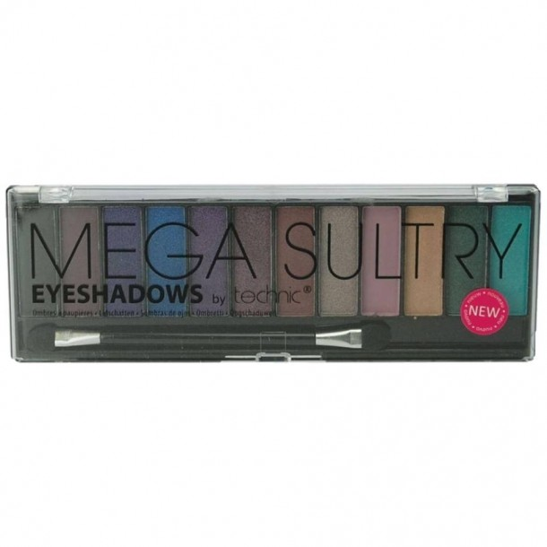 Technic Mega Sultry 12 Eye Shadows