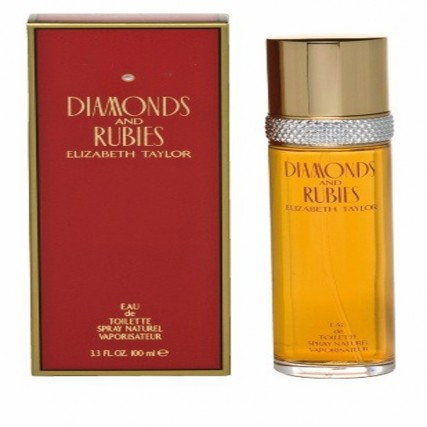 ELIZABETH TAYLOR 100ML DIAMONDS & RUBIES EDT SPRAY
