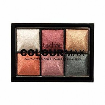 Technic: Colour Max TREASURE CHEST Baked Eye Shadows